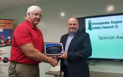 2021 Annual Chesapeake Region Safety Council Safety Awards